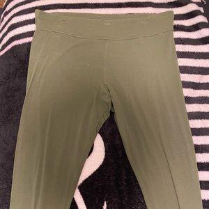 Olive leggings